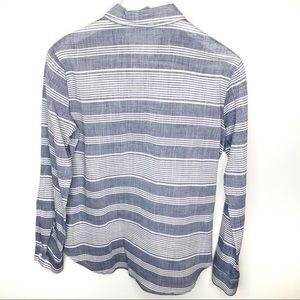 Wayf Tops - WAYF Women's 100% Cotton Striped Button Up